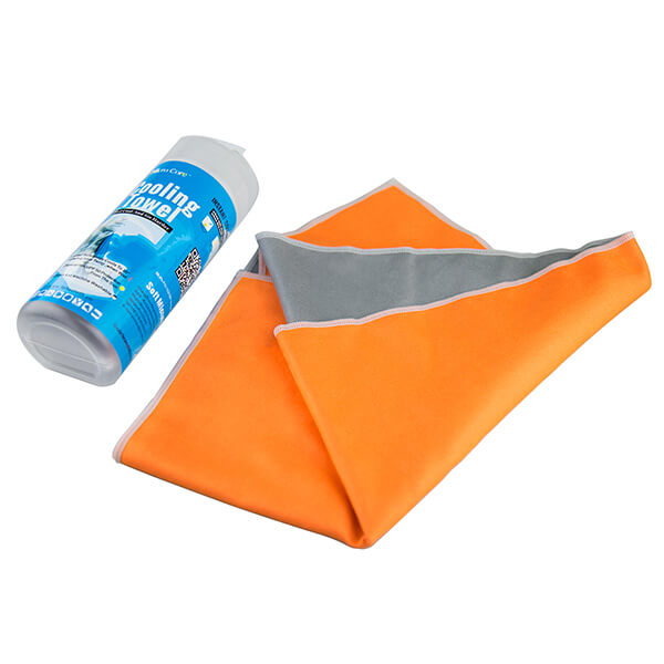 Microfiber Suede Cooling Towel For Sports Or Promotion