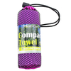 Microfiber Compact Towel For Outdoor Or Promotion Gift