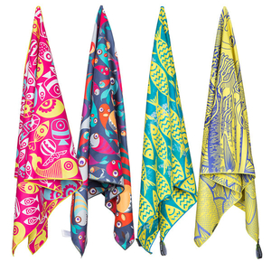 2018 NEWEST FISHING BEACH TOWEL,SWIMMING TOWEL OEM FACTORY