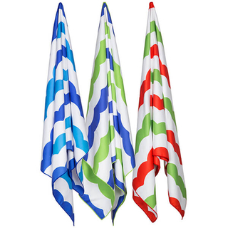 NEWEST WAVE COLORED BEACH TOWEL,TRAVEL TOWEL OEM FACTORY